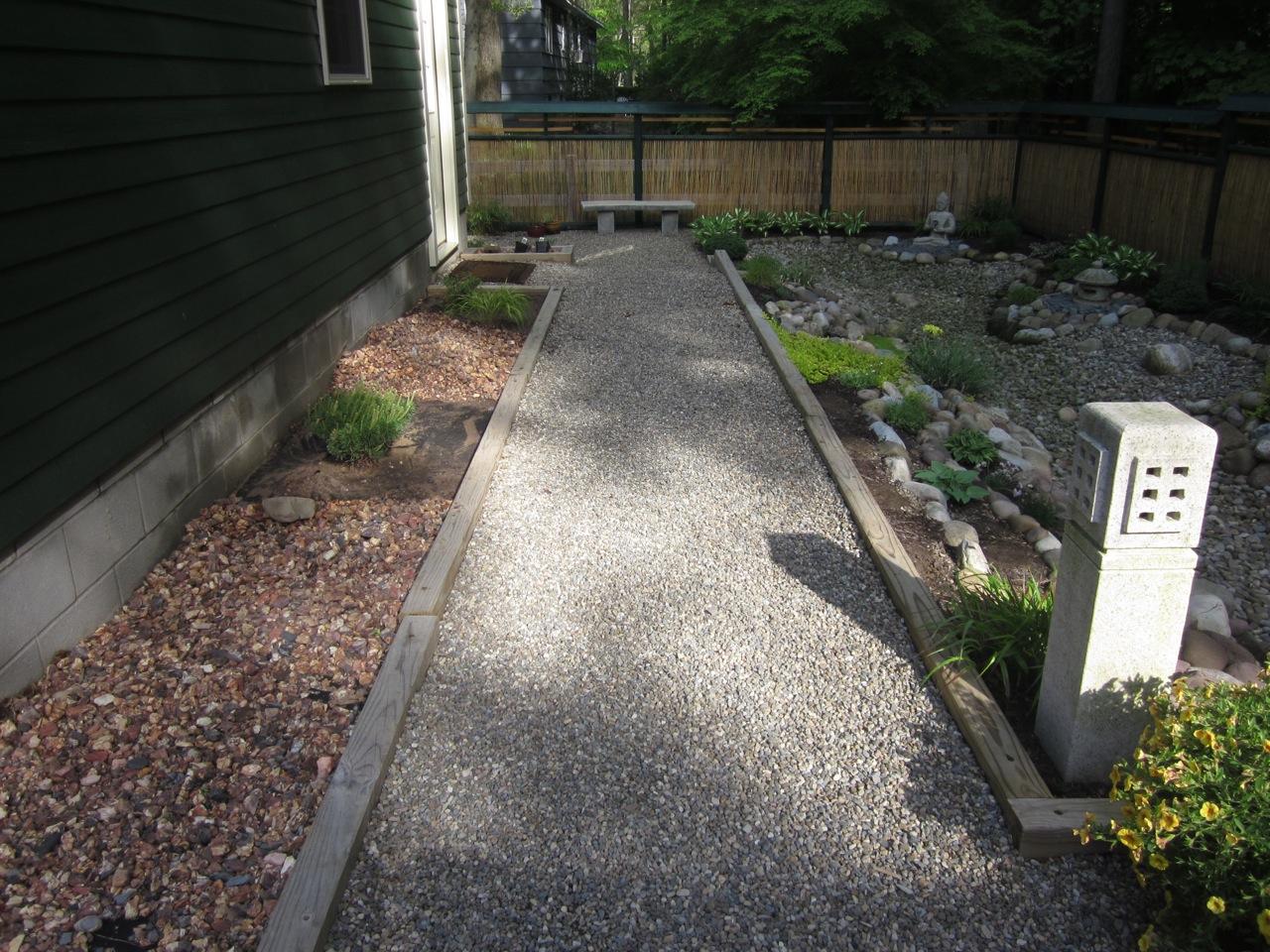 My Zen Garden S Shaped Bench