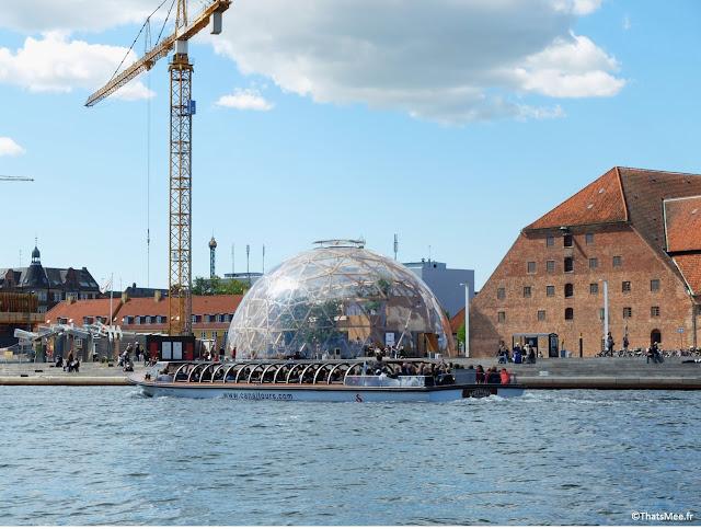 canaux copenhague danemark tour en barque Netto boats