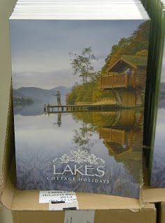 Duke of Portland Boathouse on our front cover - new 2013 brochure