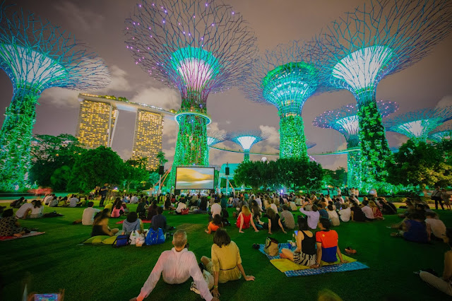 Khu vườn nhân tạo The Garden by the Bay Singapore