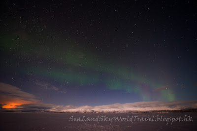 阿比斯庫北極光 Abisko aurora northern light