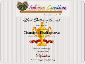 Awarded as best quiller of the week