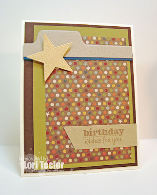 Birthday Wishes card-designed by Lori Tecler/Inking Aloud-stamps from Verve Stamps