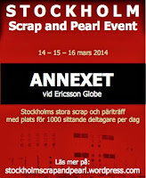 Stockholm Scrap and Pearl Event 2014