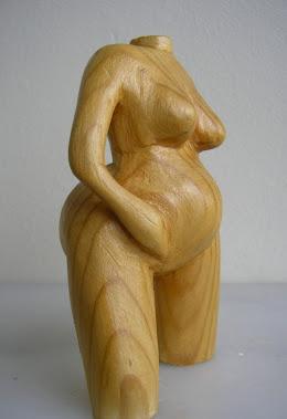 wood statuette - Cem Koç