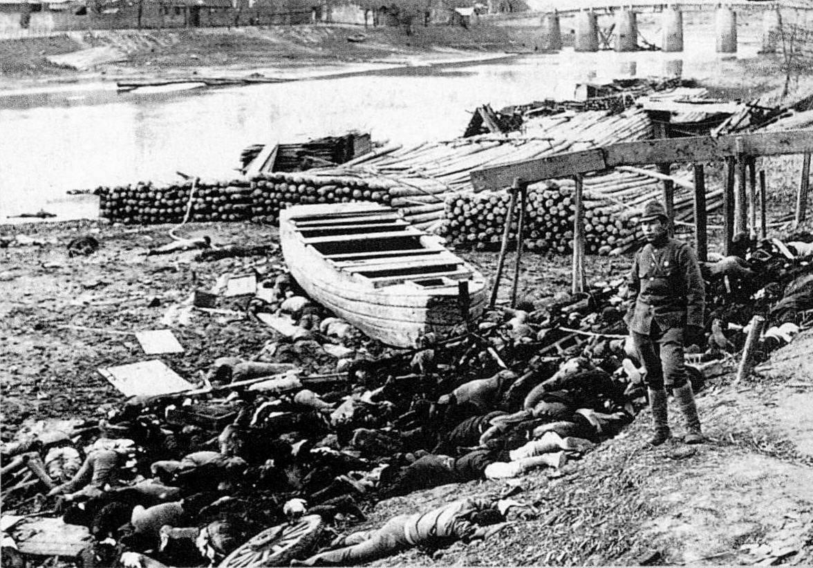 nanking massacre A japanese hotelier's denial of a 1937 massacre by japanese troops in the chinese city of nanjing has prompted chinese social media calls.
