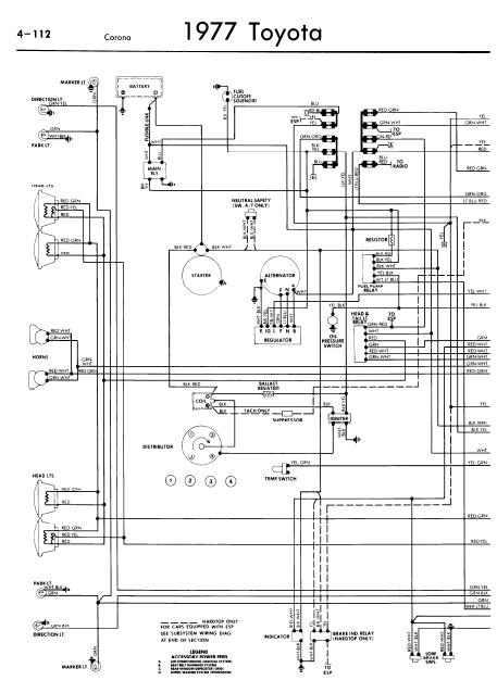 77 toyota pickup wiring diagram schematic wiring diagrams u2022 rh detox design co