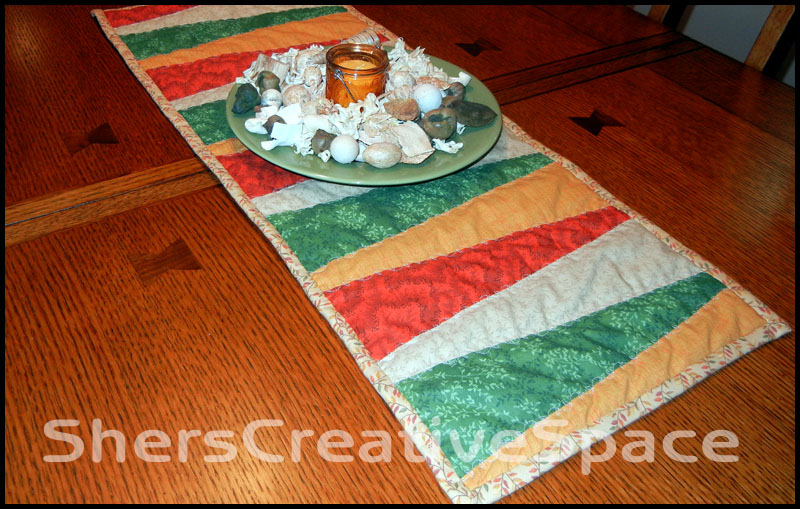 Sher S Creative Space Table Runner Tutorial