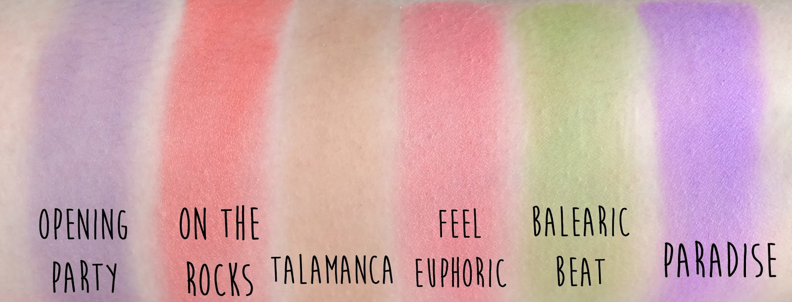 Sleek Del Mar Volume 1 limited edition eyeshadow palette