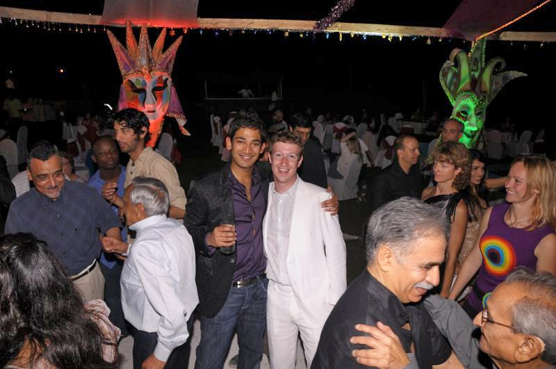 Mark Zuckerberg Facebook Ceo Visit To Indiabollywood