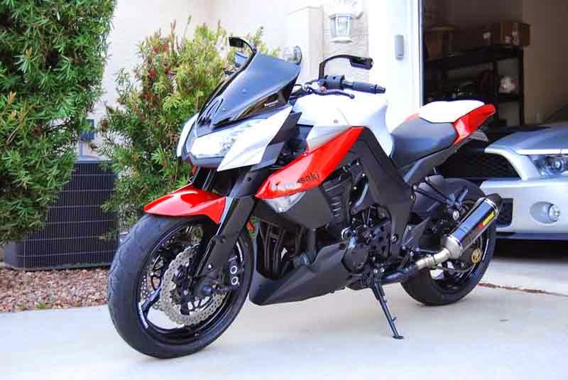 Gambar Kawasaki Z1000 Modified