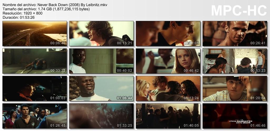 Rendirse Jamas [BrRip] [Dual Lat-Ing] [2008]