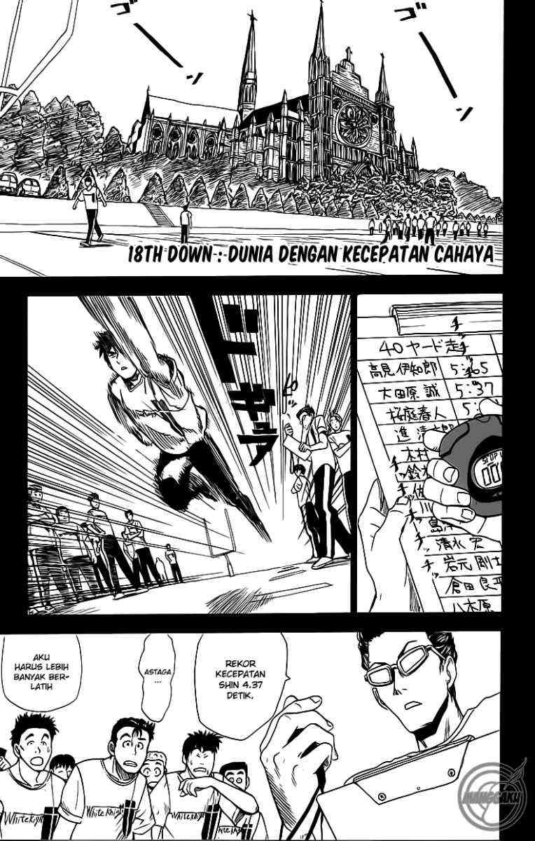 Komik eyeshield 21 018 - dunia dengan kecepatan cahaya 19 Indonesia eyeshield 21 018 - dunia dengan kecepatan cahaya Terbaru 1|Baca Manga Komik Indonesia|