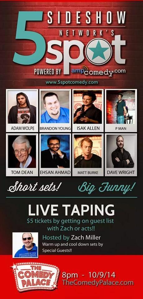 5 Spot Comedy Show