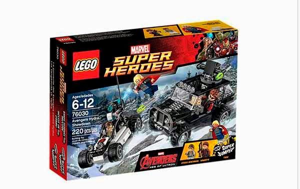 Lego:  Los Vengadores vs. Hydra