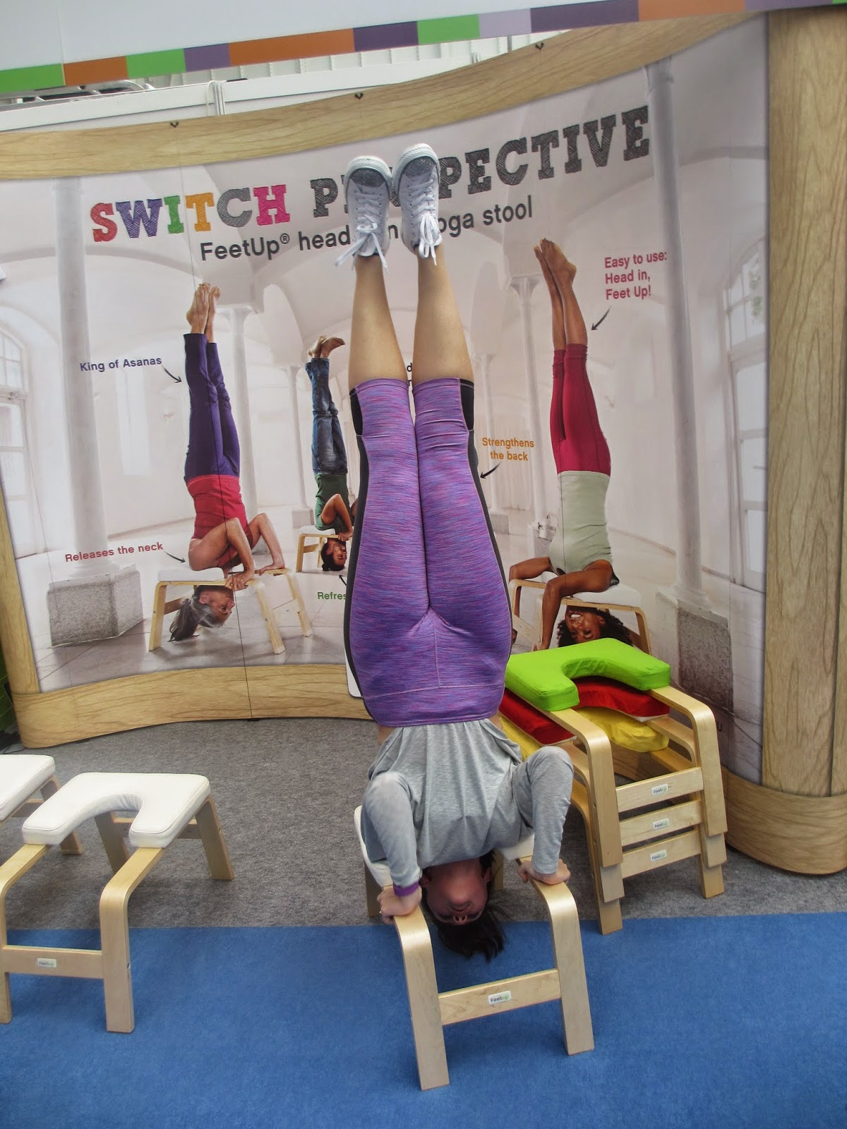 Laura Fat To Fit Om Yoga Show London 2014