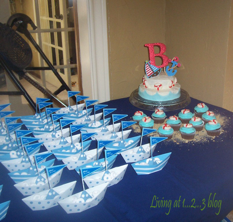Baby Shower Favors Nautical Theme ~ Living at ahoy it s a boy