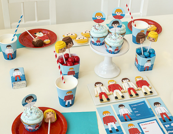 Fiesta infantil temática Playmobil