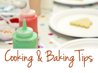 Cooking & Baking Tips