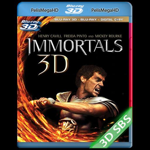 LOS INMORTALES (2011) 3D SBS 1080P HD MKV ESPAÑOL LATINO