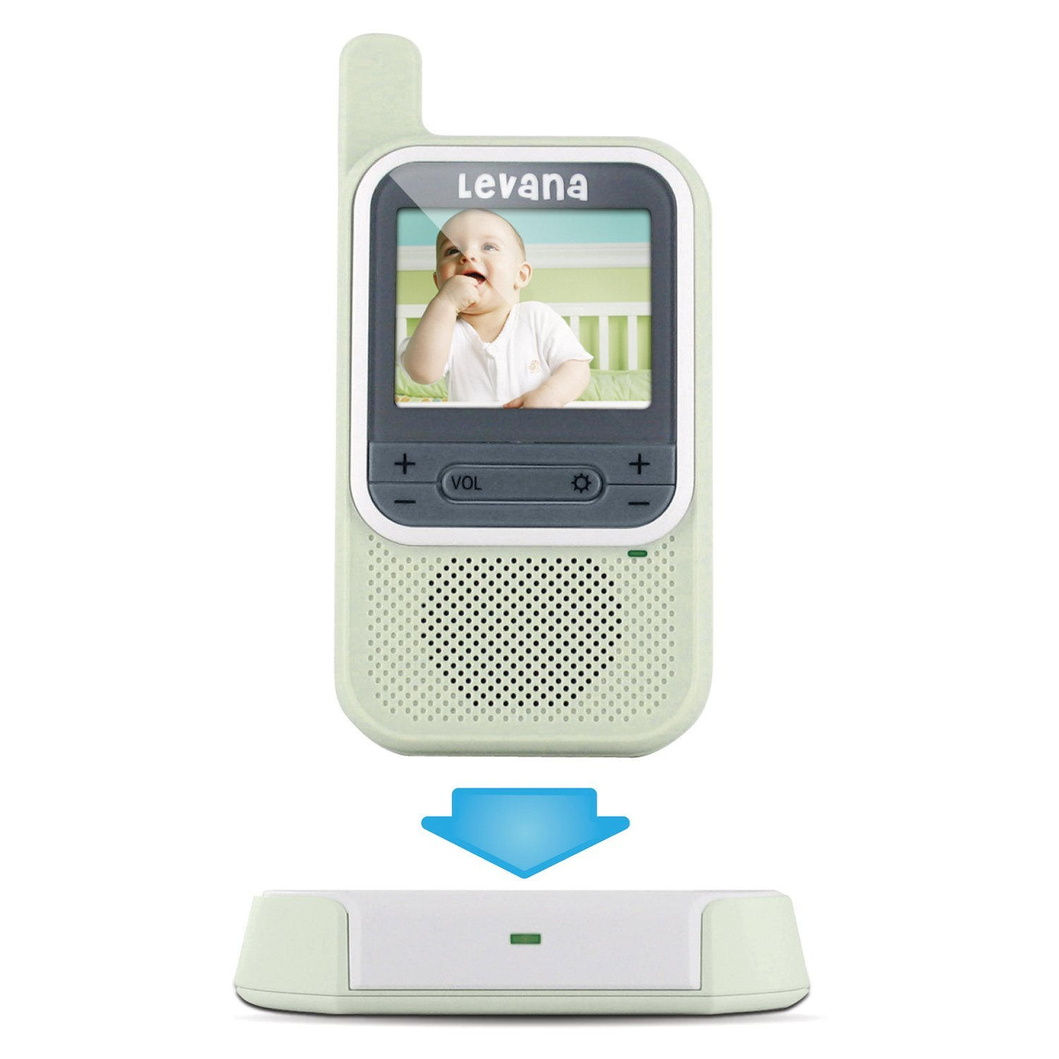 amazoncom levana clearvu digital video baby monitor with color 2015 persona. Black Bedroom Furniture Sets. Home Design Ideas