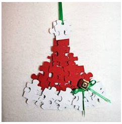 Puzzle piece ornaments 1