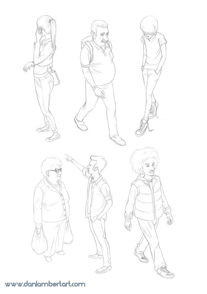 danlambert's sketches - 22nd August