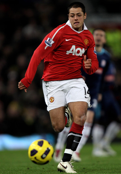 Chicharito Manchester United 2011-2012