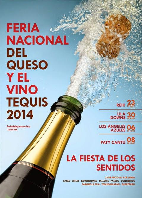 Feria nacional del queso y el vino tequis 2014