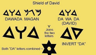 "Origin of the ""Shield of David"""