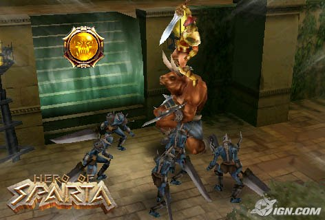 Hero Of Sparta for android and also for galaxy y