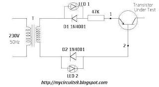 transistor tester circuit