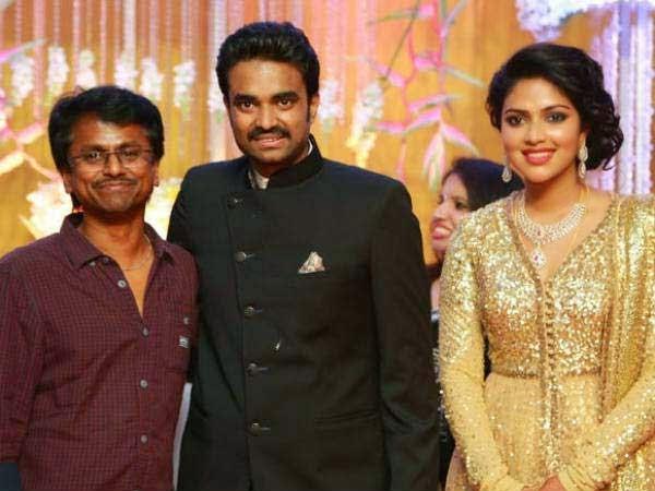 Amala Paul and Director Vijay Marriage Reception