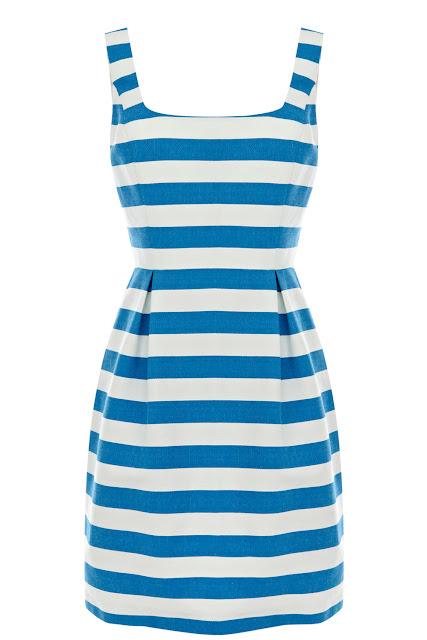 stripe riri dress
