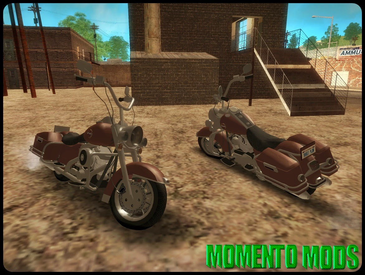 GTA SA - Harley Davidson Road King