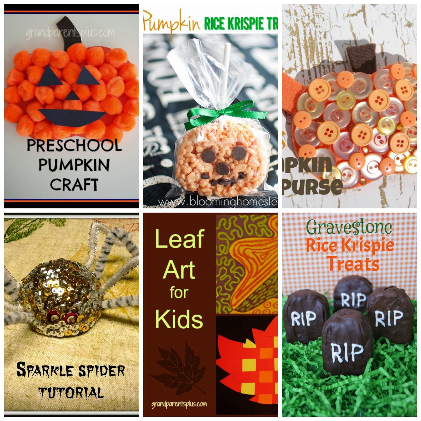 halloween kiddie crafts