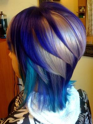 color pelo peinados 2014 mechas