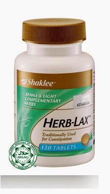 sembelit dapat diselesaikan dengan herblax