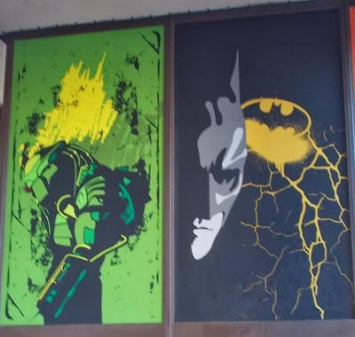 Sci-fi wall art