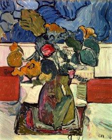 uno Amiet (1868-1961)Nature morte aux fleurs, 1908