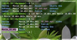 Cara menggabung file .001 .002 di ubuntu