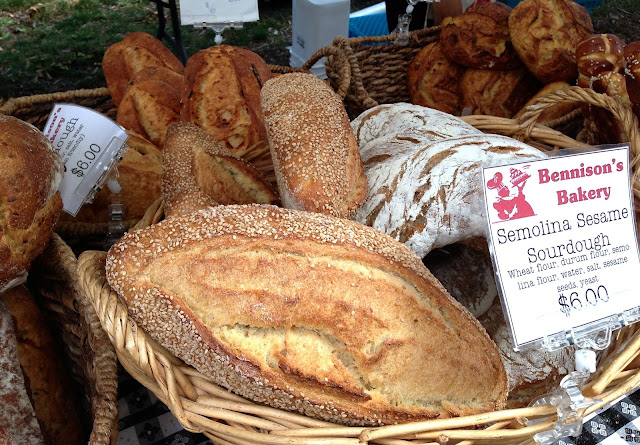 local_baked_bread_farmers_market_semolina_sesame_sourdough