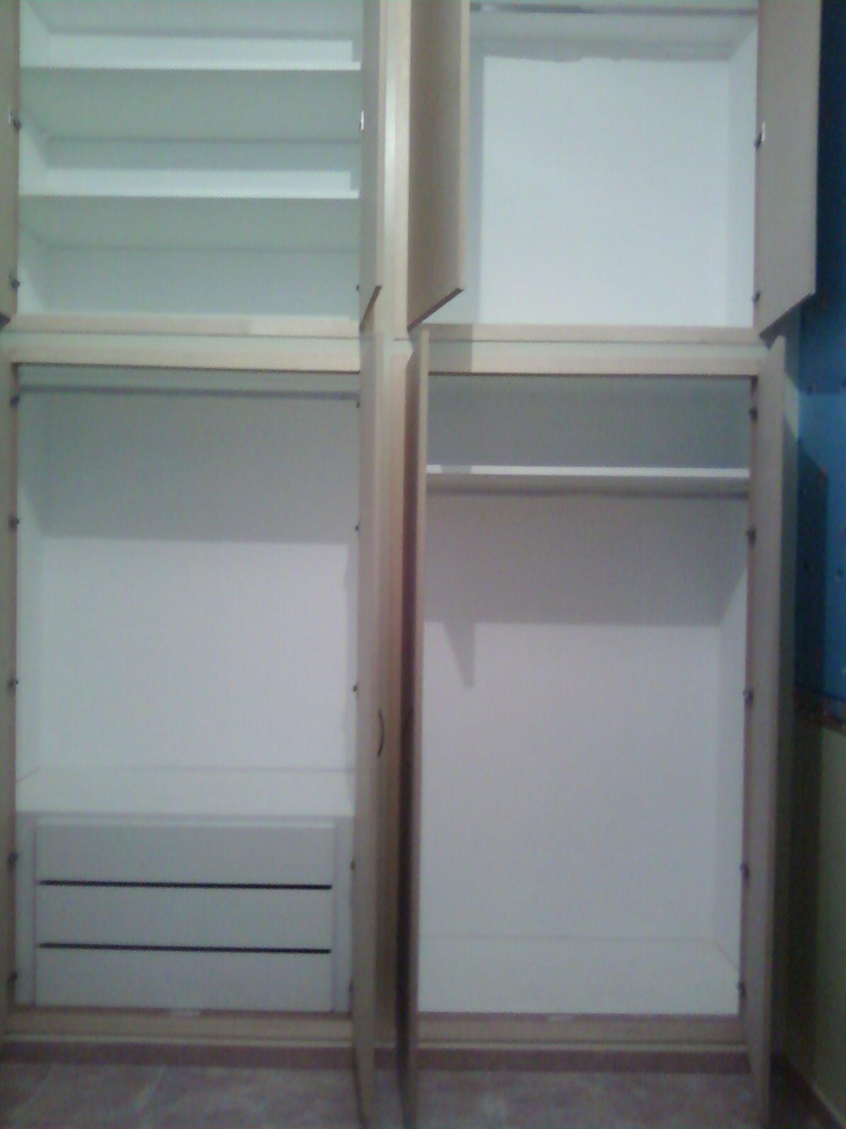 Fai da te hobby legno armadio in muratura - Cassettiera interno armadio ...