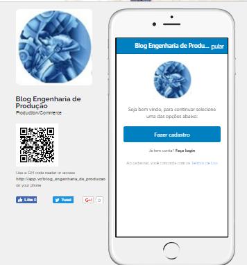 App Blog Eng. de Produção