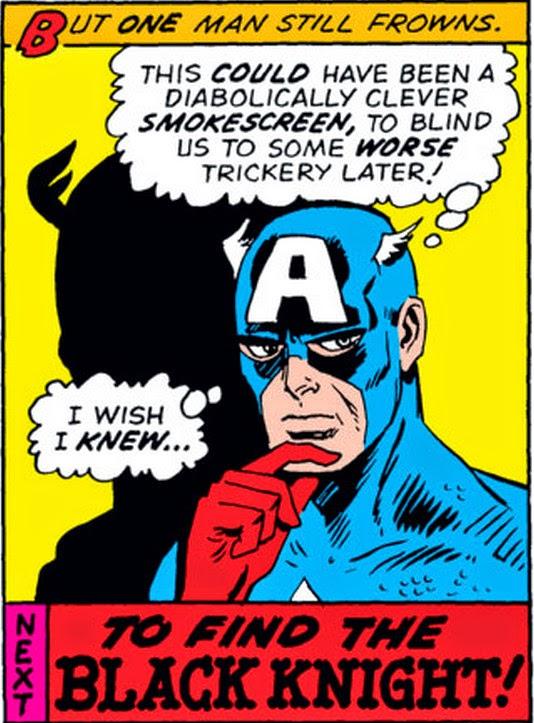 Avengers 114 Captain America