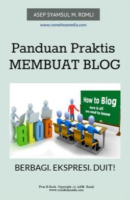 e-book panduan membuat blog