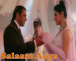 Salaam Aaya Lyrics - Zarine Khan, Salman Khan