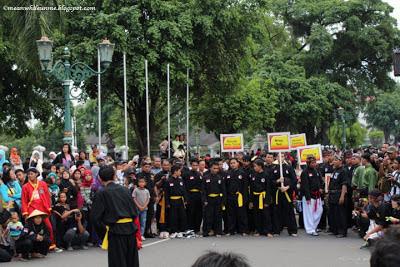 malioboro pencak festival berkumpul