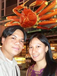 Osaka Japan Dotonbori giant crab Kani Doraku