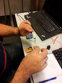 Sensor detecting match flame
